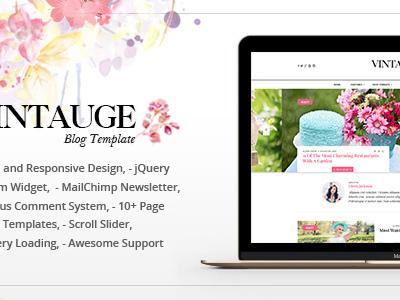Vintauge - Responsive Blog & Fashion Ghost Blog Theme (Ghost Themes)