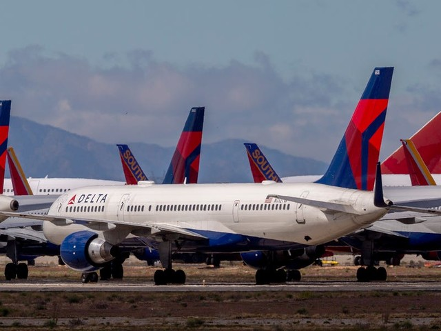 Leaked memo from Delta reveals plans to cut worker hours and pay, despite protections in the coronavirus stimulus package. United and other airlines are doing the same. (DAL, AAL, UAL, LUV)