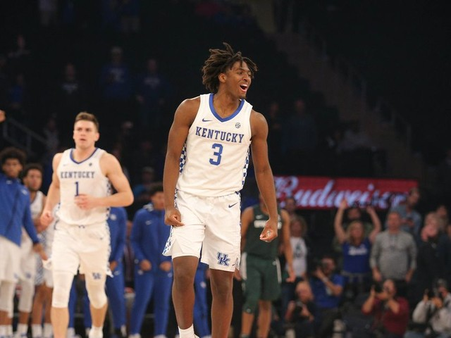 Kentucky's Tyrese Maxey Turbocharged the Cats in the Champions Classic