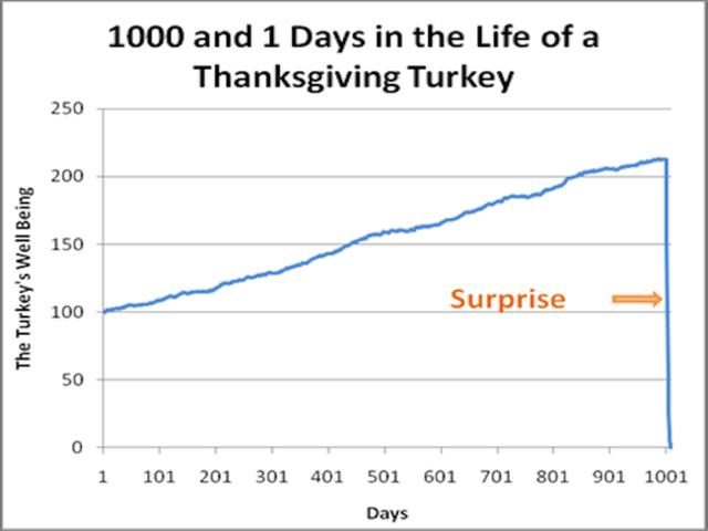 "Turkeys, Markets & A ""Revision Of Belief"""