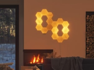 Review: Nanoleaf's Wood-Style Hexagons Add Attractive Accent Lighting to Any Room