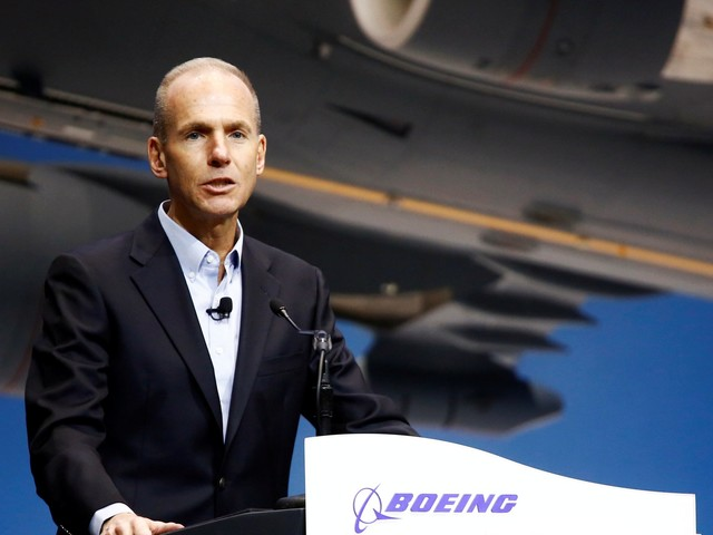 Boeing CEO vows that the fixed 737 Max will be 'one of the safest airplanes ever to fly' after the jet suffered two fatal crashes in five months (BA)