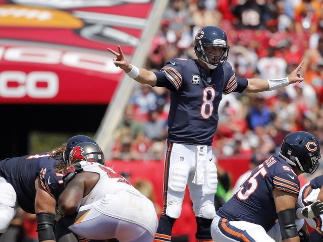 Mike Glennon is making it hard for the Bears to be patient about Mitchell Trubisky