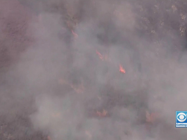 Canyon Fire Burning Near Lake Berryessa Grows Overnight, Containment At 60%
