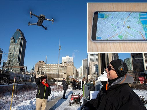 A new smartphone app will let people identify mysterious drones flying overhead