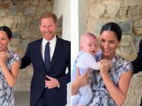 Meghan Markle and Prince Harry just posted an adorable video of baby Archie, and it's the most we've ever seen of him