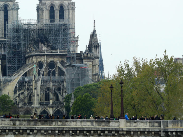 Billionaires pledge more than $450 million to rebuild Notre Dame Cathedral after devastating fire