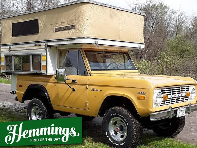 Hemmings Find of the Day: 1971 Ford Bronco
