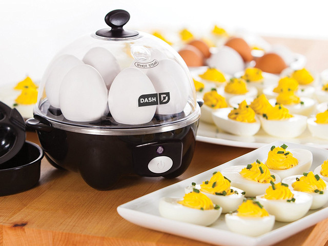 The rapid egg cooker everyone flips out over is on sale for $16