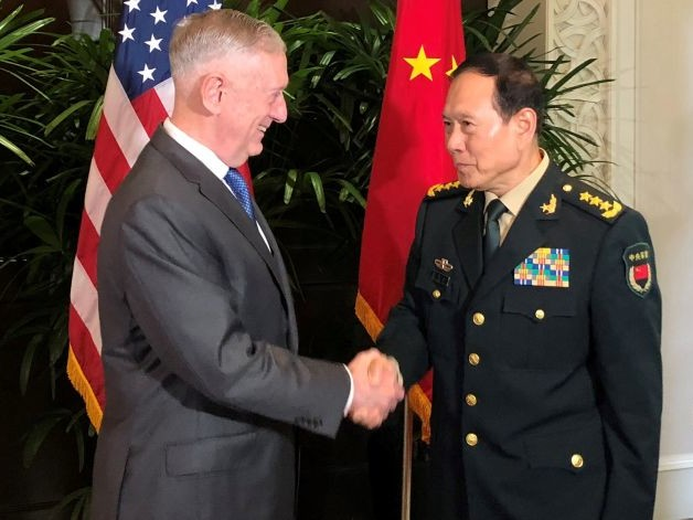 Mattis Tries to Dial Back Confrontation With China