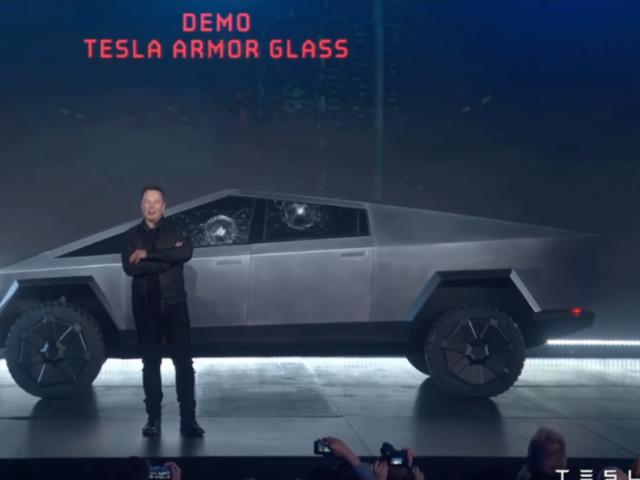 Elon Musk shocked at how his 'bulletproof' Tesla 'Cybertruck' held up against a hand-thrown metal ball