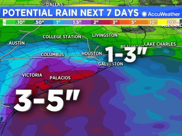 Tropical Wave in the Gulf to bring heavy rains this week