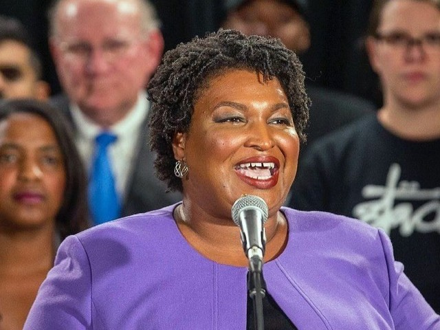 Stacey Abrams weighs in on abortion bans, boycotts and California