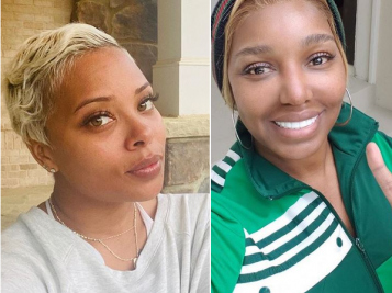 Eva Marcille VS. NeNe Leakes Continues! A No Makeup Challenge Turns Into A 'Show Our Bodies' Challenge & It's Messier Than Ever