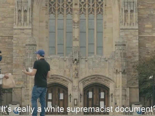 SCARY: Yale students enthusiastically sign 'petition' to REPEAL the Constitution
