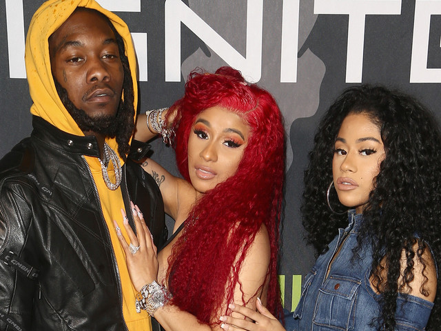 Cardi B Rocks Offset Engagement Ring for the First Time in Months!