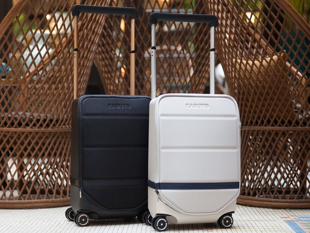 The Kabuto Is A Smart Luggage You'll Want To Travel With