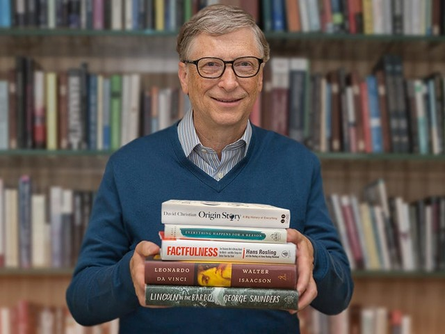 5 books Bill Gates wants you to read this holiday season