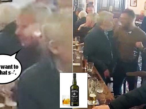 Elderly man refused a shot of Conor McGregor's whisky before he was punched in the face