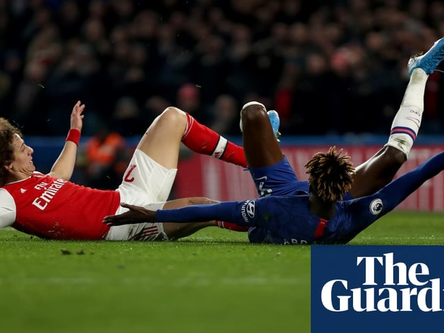 David Luiz's red card leaves Arsenal pondering philosophical matters | Barney Ronay