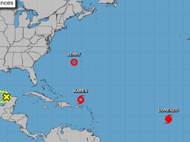 Tracking The Tropics: Tropical Storm Karen's Eventual Track Remains Uncertain