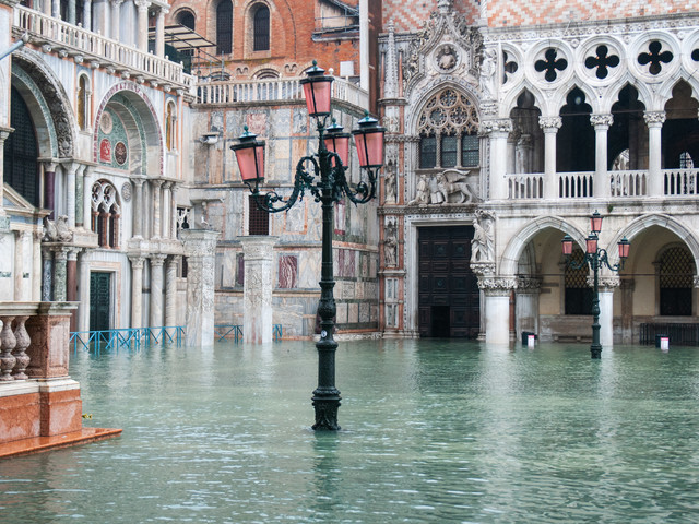 The highest tide in 50 years is causing extreme flooding in Venice