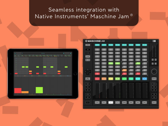 Reactable launch Snap a new free Drum Machine on iOS and Android