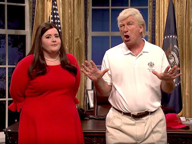 Alec Baldwin returns to 'Saturday Night Live' to roast Donald Trump yet again