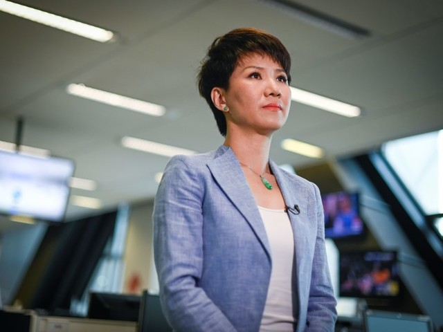 'We Have To Stand Our Ground': Chinese State TV Host Liu Xin On U.S.-China Trade War