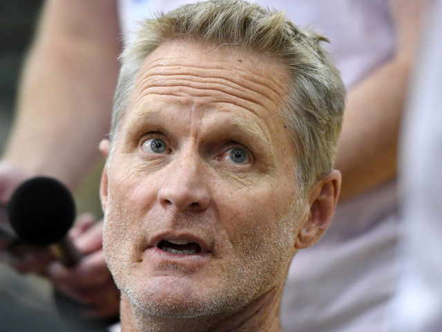 NBA coach Steve Kerr brings up AR-15s to deflect question about Chinese human rights