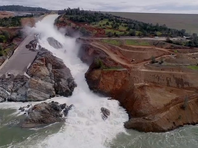 Fun facts about the work and material used to complete Oroville Dam spillway repairs