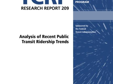 Analysis of Recent Public Transit Ridership Trends