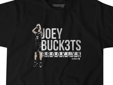 Joe Harris' NBA 3-Point Shootout win over Steph Curry is now a T-shirt and hoodie