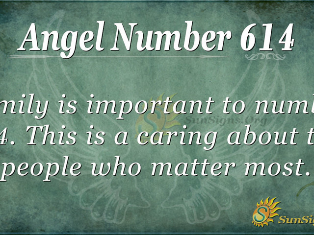 Angel Number 614 Meaning: Focus On Yourself