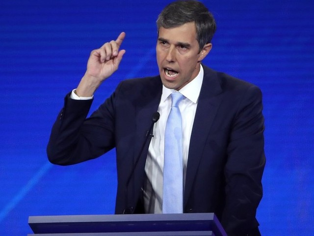 Beto O'Rourke's website: 'The president of the United States of America is a white supremacist'