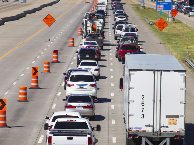Houston drivers sat in more than two days worth of traffic on average in 2017