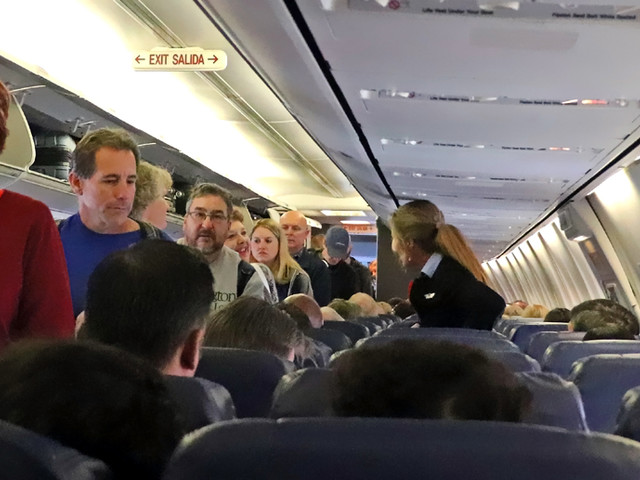 Don't freak out about germs on airplanes