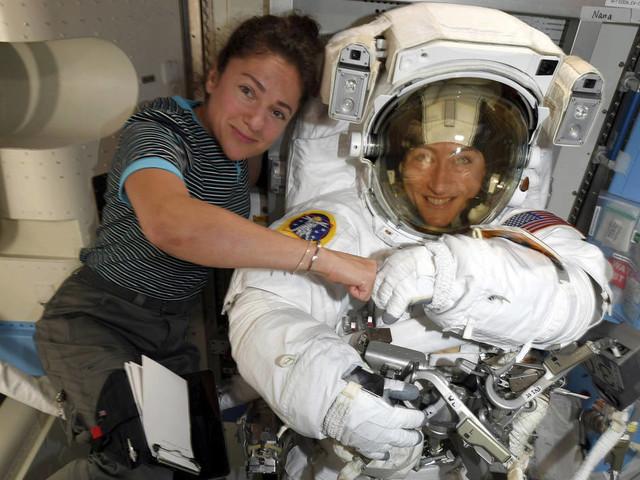 NASA moves up 1st all-female spacewalk to repair power unit