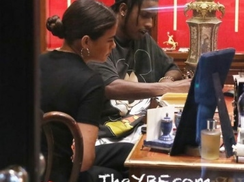 A$AP Rocky & His New Brunette Mystery Chick Hit Up The Jeweler In Milan