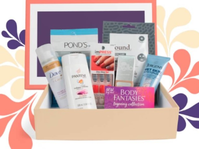 $5.00 Fall Beauty Box of Products & Samples from Walmart {includes shipping}