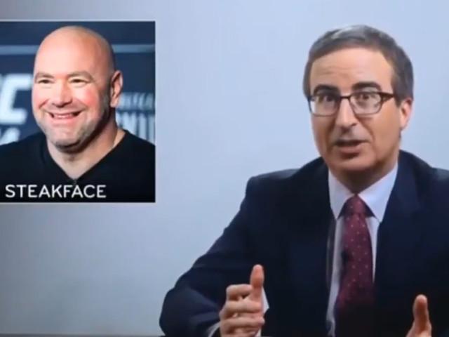 John Oliver mocks UFC president 'Dumps McFightman'