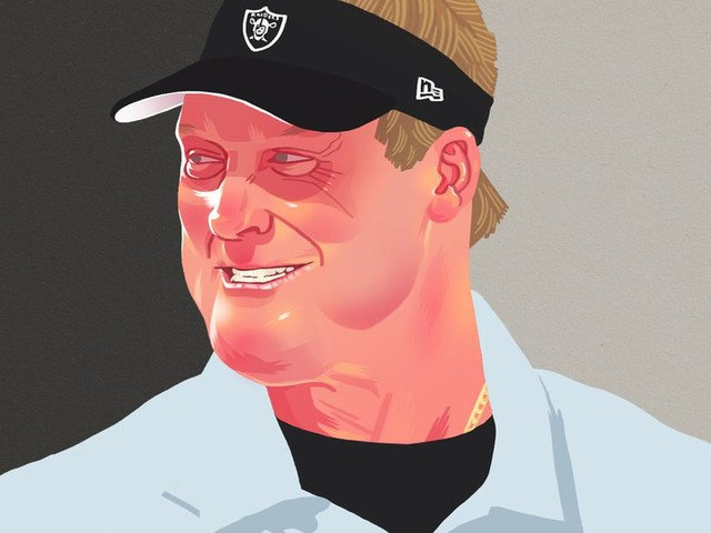 The Raiders' Jon Gruden Experiment Remains Just As Confounding As Ever