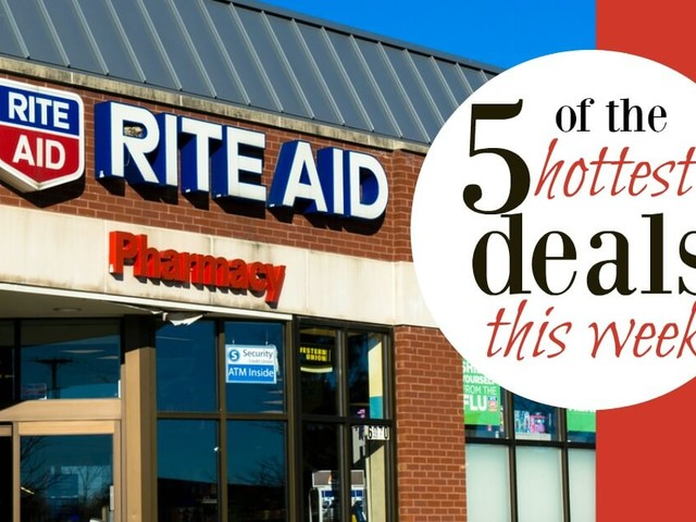 5 of the Most Popular Deals at Rite Aid – Ending 10/7