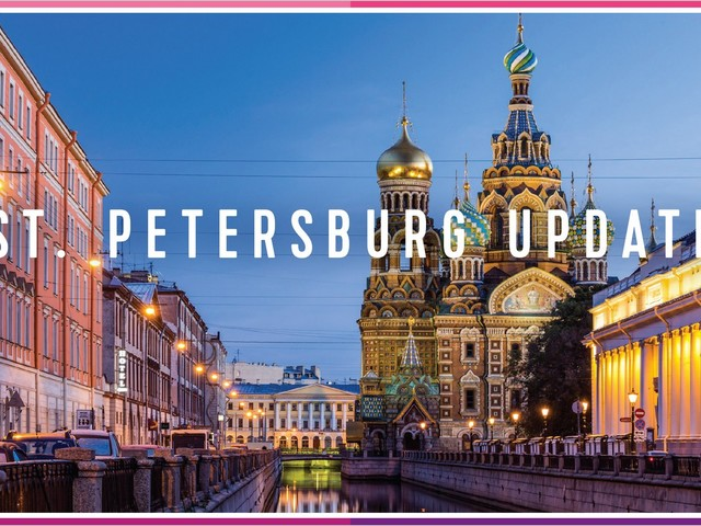 Russia updates rules for visiting St. Petersburg on your own