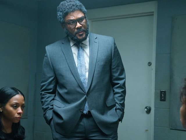 Tyler Perry brings his dramatic clumsiness to Netflix with the thriller A Fall From Grace