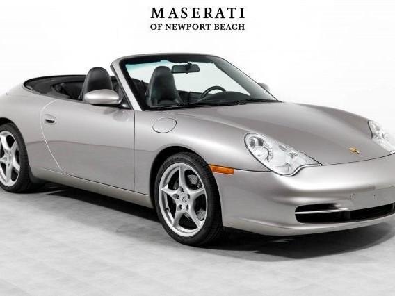 2002 Porsche 911--Carrera--Cabriolet Base