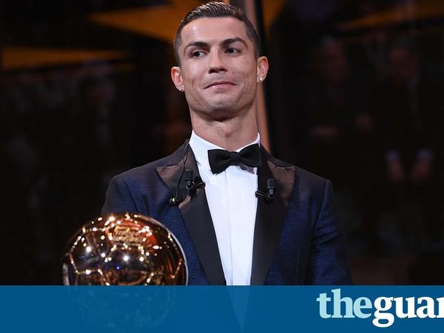 Cristiano Ronaldo wins fifth Ballon d'Or to equal Lionel Messi's record