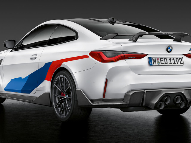 2021 BMW M3 And M4 Receive Host Of M Performance Parts