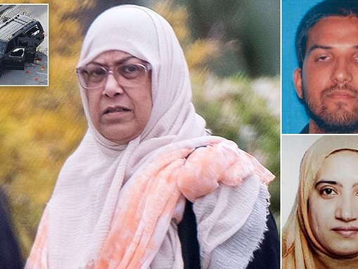 Mother of San Bernardino terrorist is seen four years after he and his ISIS-loving wife massacred 14