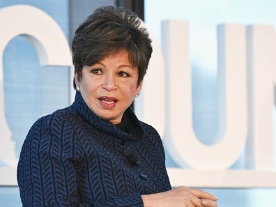 Obama's former advisor Valerie Jarrett talks about Trump's 'flat-footed' response to the pandemic and why we need to let more people vote early and by mail